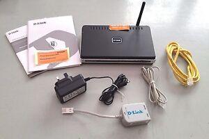 D-link-DSL-2640R-24-Mbps-4-puertos-10-100-Inalambrico-G-Router-DSL-2640R-UK