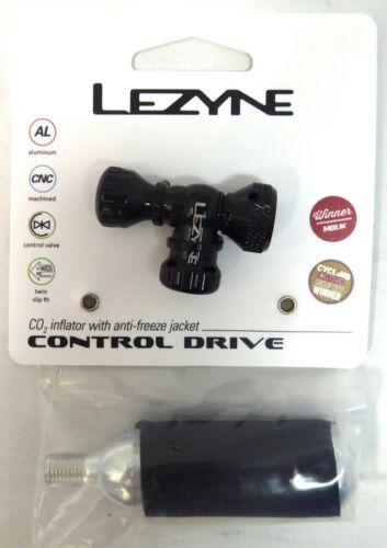Lezyne Control Drive Presta Schrader Inflator with CO2