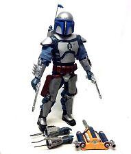 "STAR Wars 12"" 1/6th SCALA Ulitmate Jango Fett Hasbro Action Figure molto bello!"