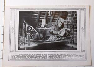 1915 Première Guerre Mondiale G.mondiale 1 Imprimé ~ Repos Between Duty En Ozlkvh6o-08000606-273216406