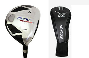AGXGOLF-FAIRWAY-XS-11-WOOD-30-MENS-RIGHT-GRAPHITE-SHAFT-ALL-SIZES-HEAD-COVER