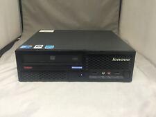 Lenovo ThinkCentre M58p 9961-ALU Intel Core 2 Duo E8400 3.0GHz,160GB HDD,4GB RAM