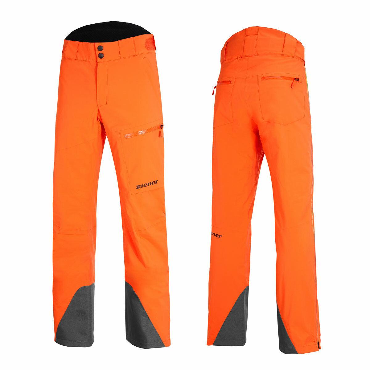 Ziener TILAS Vent-Zip Man Herren Skihose Snowboardhose Teamwear 20K 184937-953993 Blue sea orange Shade
