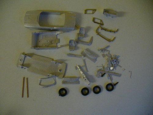 Triumph Stag Mk1 1 43rd scale white metal kit  by K & R Replicas