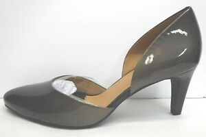 Ecco Size EUR 41 US 10 10.5 Ginger Slate Leather Heels New Womens Shoes