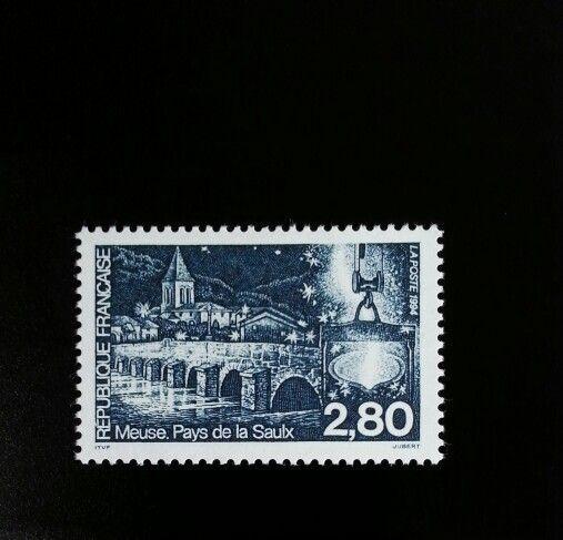 1994 France Saulx River Bridge Scott 2432 Mint F/VF NH