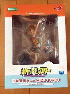 ARTFX-J-034-Pokemon-034-series-Haruka-with-Mizugorou-1-8-Scale-PVC-Figure-Japan-NEW