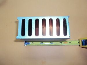 """Aluminum Heat Sink with 1//4/"""" hole drilled at center approx  5/"""" x 3/""""  used"""