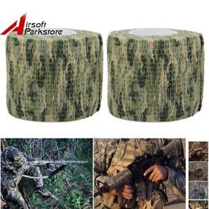 2X Bionic Camo Hunting Waterproof Camping Gun Rifle Camouflage Stealth Tape Wrap
