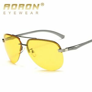Night and Day Vision HD UV400 Sunglasses Cycling Driving Fishing Sports Eyewear
