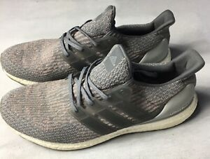separation shoes c7c99 a595d Image is loading adidas-Ultra-Boost-3-0-Grey-Four-Trace-