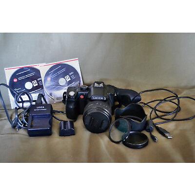Leica V-LUX 1 10,0 MP Digitalkamera - Schwarz