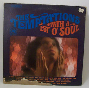 Temptations With A Lot Of Soul Lp Vinyl Record Album 1967