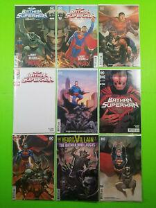 BATMAN-SUPERMAN-1-2-3-4-2019-First-Prints-amp-Variants-Batman-Who-Laughs-DC