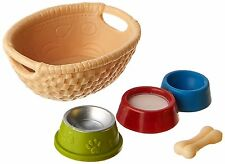 Schleich 42293 Feed for Dogs & Cats Toy Playset, Assorted Colors, For Age 3+