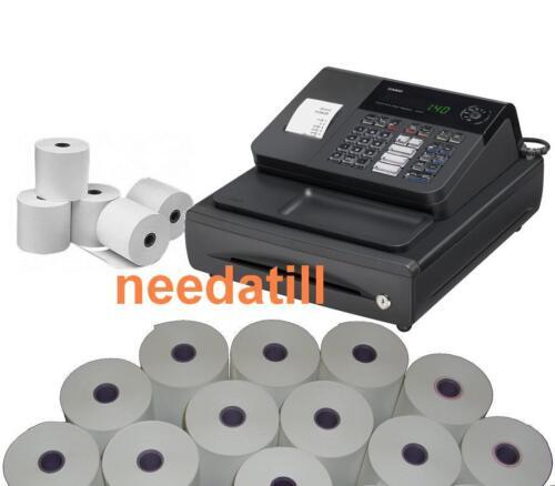 Fino a rotoli-Casio 140 CR Cash Register 140CR 140-cr