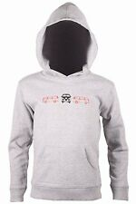 Kid's Outline Camper Hoodie - Grey -  Age 7-8 - RRP £24.99 - Box078 H
