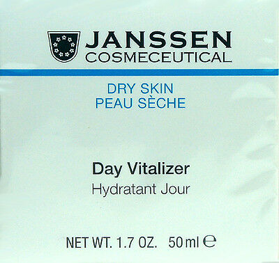 Fresh New Packing Of Nominated Brand 50ml Rapture Janssen Day Vitalizer Dry Skin 1.7oz