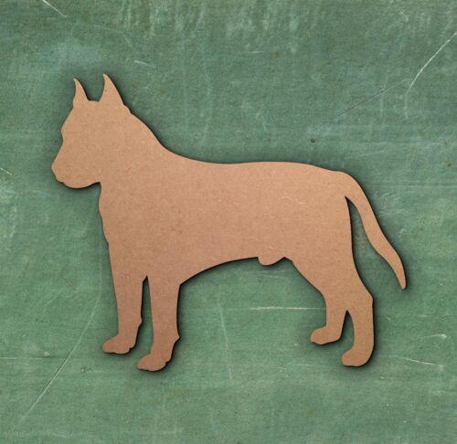 DOG ANIMAL LASER CUT MDF WOODEN SHAPE Wood Craft Arts Decoration