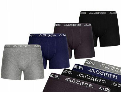 KAPPA 4er PACK BOXERSHORTS Herren Unterwasche BAUMWOLLE Unterhosen Set Pants