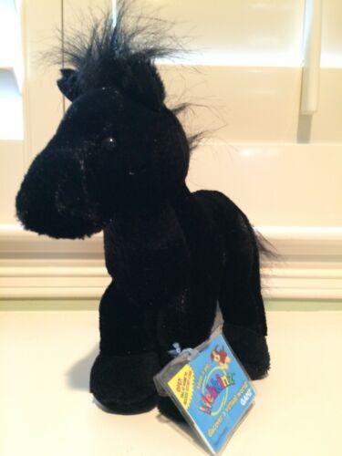 Ganz-Webkinz Black Stallion-Brand New with Sealed Code