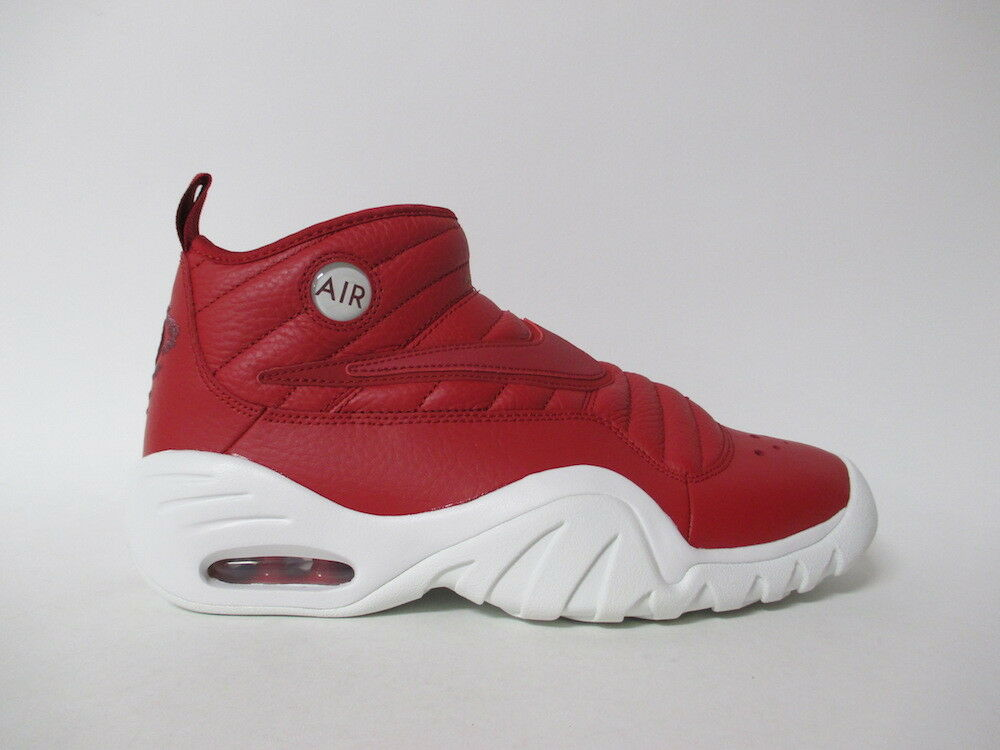Nike Air Shake Ndestrukt Gym Red White Dennis Rodman Sz 10 880869-600
