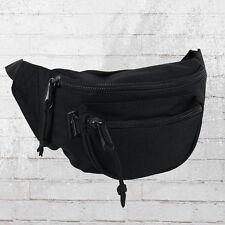Blanko Gürteltasche schwarz Bauchtasche Hüfttasche Waist Bag Hip Bag Waistbag