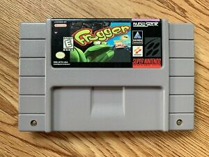 Frogger-Super-Nintendo-Entertainment-System-SNES-AUTHENTIC-TESTED