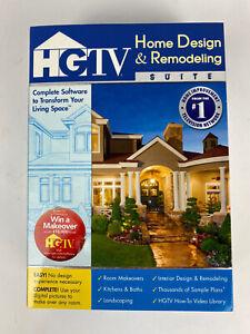 Hgtv Home Design Remodeling Suite Cds Software User Manual Ebay