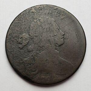 1798-Draped-Bust-Large-Cent-S-167-Die-Crack-Damaged