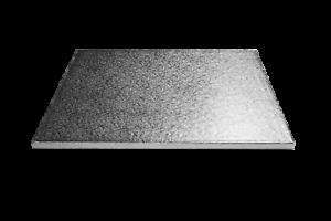 """16/"""" x 14/"""" Oblong Gâteau Argent Tambour Cartes Base Forte 12 mm-Free p/&p"""