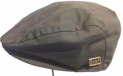 DOBBS M BLACK 57cm IVY DRIVING DRIVER CAP OLD FASHION CLASSIC M CABBY CAP