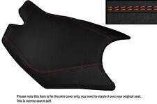 DESIGN 3 GRIP VINYL ORANGE DS ST CUSTOM FITS KTM RC8 FRONT RIDER SEAT COVER