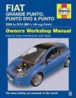 Fiat Grande Punto. Punto Evo & Punto Petrol Owners Workshop Manual by Martynn Randall (Paperback, 2015)