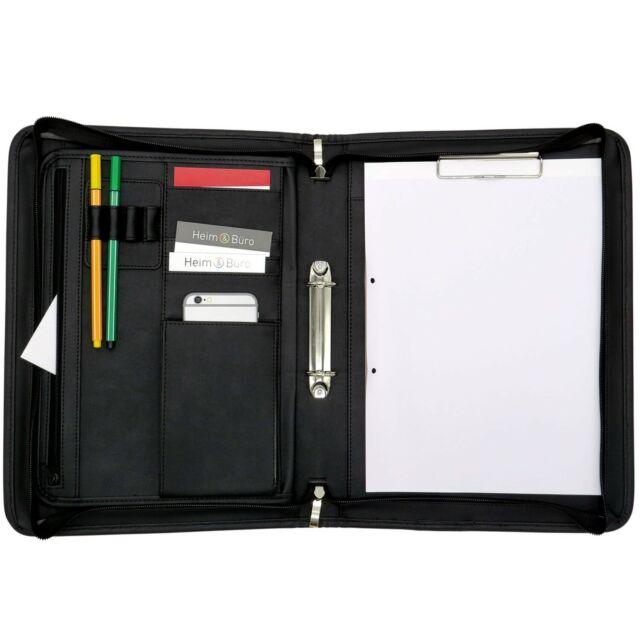 Ringmappe Schreibmappe Halfar Dokumenten Akten Schreib Konferenz Ring Buch Mappe