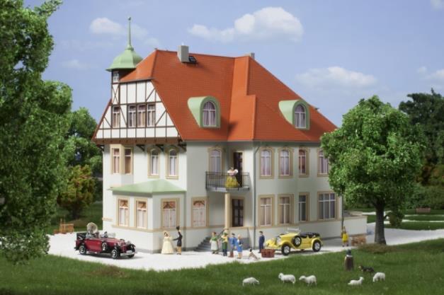 Auhagen 11443 Scala H0 Fabrikantenvilla   Nuovo in Confezione Originale