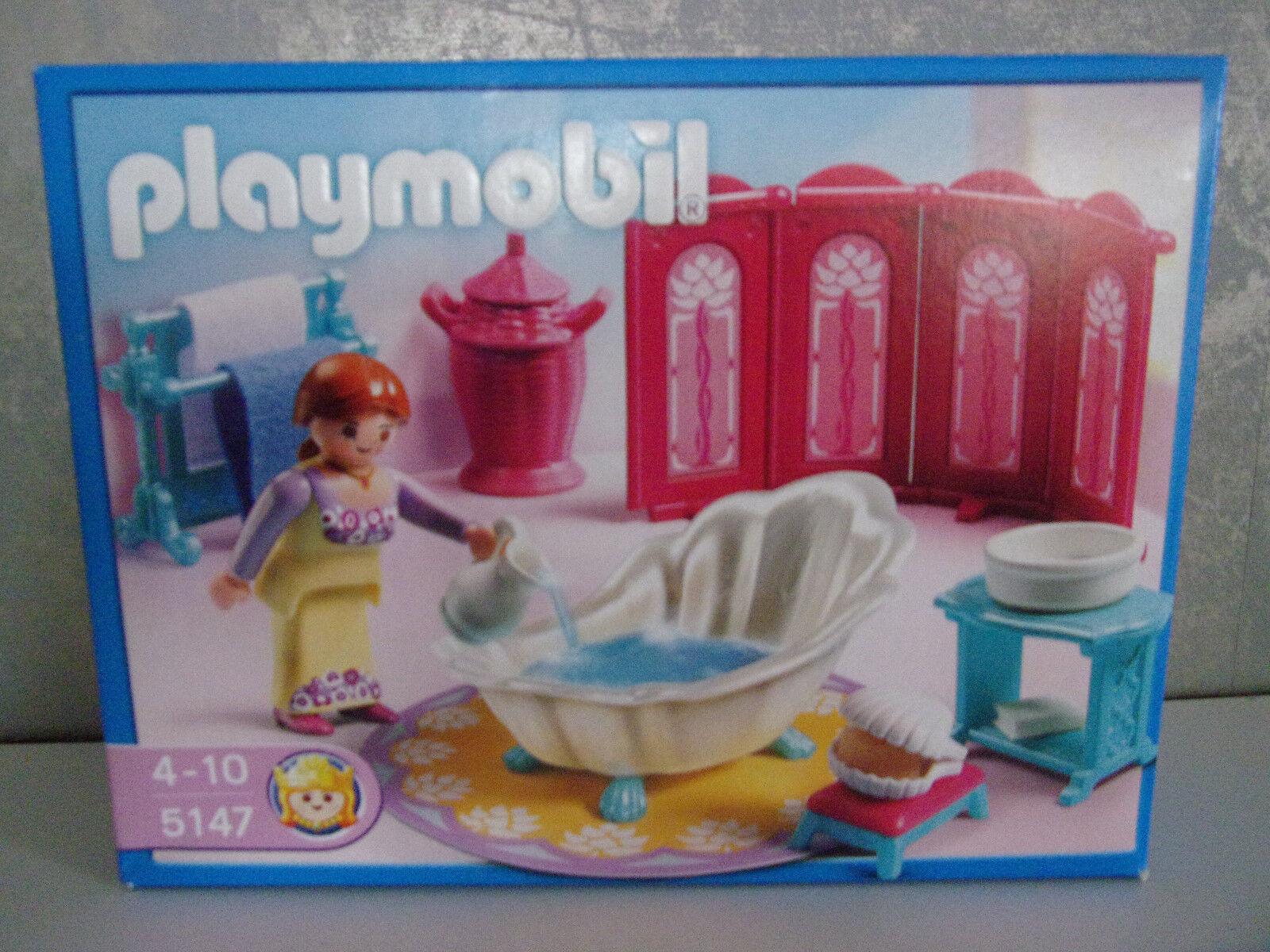 Playmobil 5147 Princess Fantasy Castle Royal Bathroom-New Age 4-10