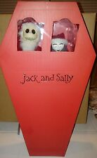 Diamond Select NBX Nightmare Before Christmas Jack and Sally Coffin Doll Set!