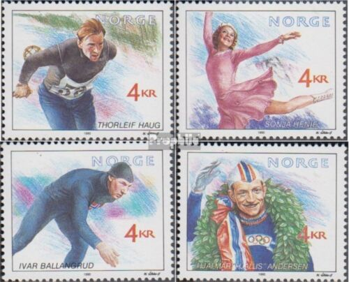 Norway 10501053 complete issue unmounted mint never hinged 1990 Olympics Wi