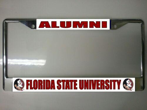 Florida State Seminoles Alumni Photo License Plate Frame