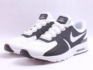 separation shoes 0fc37 a3ce4 Image is loading Nike-W-Air-Max-Zero-857661-006-Black-