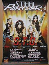 STEEL PANTHER  2014    orig.Concert-Konzert-Tour-Poster  84 x 60 cm