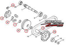 YAMAHA ZUMA 125 PRIMARY DRIVE CLUTCH REPLACEMENT KIT SHEAVE SLIDING FIXED NEW!