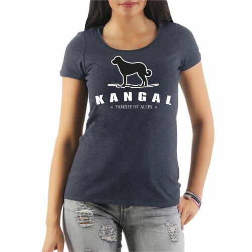 Frauen T-Shirt Kangal Dogs Rasse Hütehunde Treibhunde Molosser Begleithunde Jagd