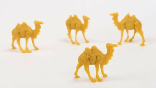 Small Set of 8 201-153-2 Camels Dollhouse Minis