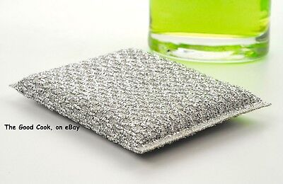 Non-Scratch  Ceramic Porcelain Anodized Aluminum  Scrubbie Scrubber Sponge Scrub