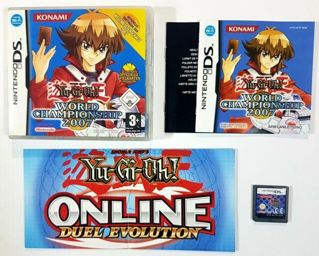 Nintendo Jeu DS Yu-Gi-Oh Championnat Du Monde 2007 Allemagne Ovp Konami / Duel