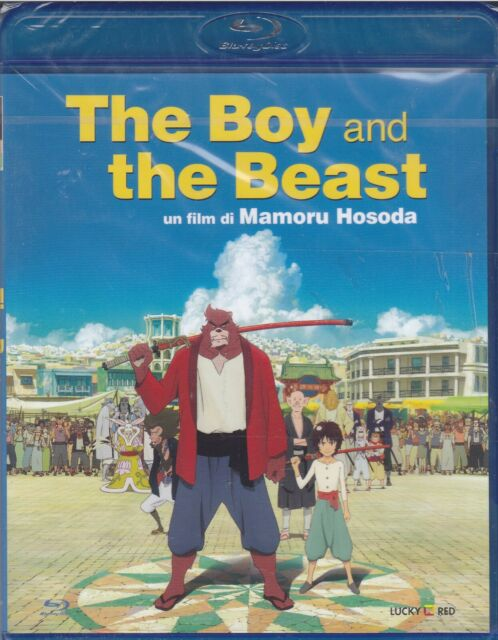 Blu-Ray the Boy and the Beast by Mamoru Hosoda New 2016