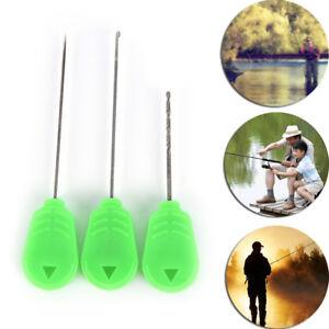 3XCarp fishing chod hair rig making splicing needles boilie drill carp tool n G4