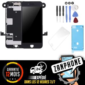 Distingué Écran Complet PrÉ-montÉ Iphone 8 Noir + CamÉra + Tactile Livraison Gratuit